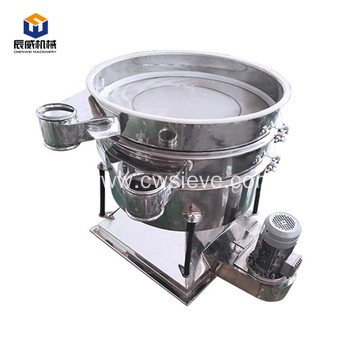 High precision flour vibrating swinging sieving machine